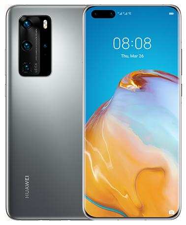 Мобільний телефон Huawei P40 Pro 8/256GB Silver Frost Slim Box - зображення 1