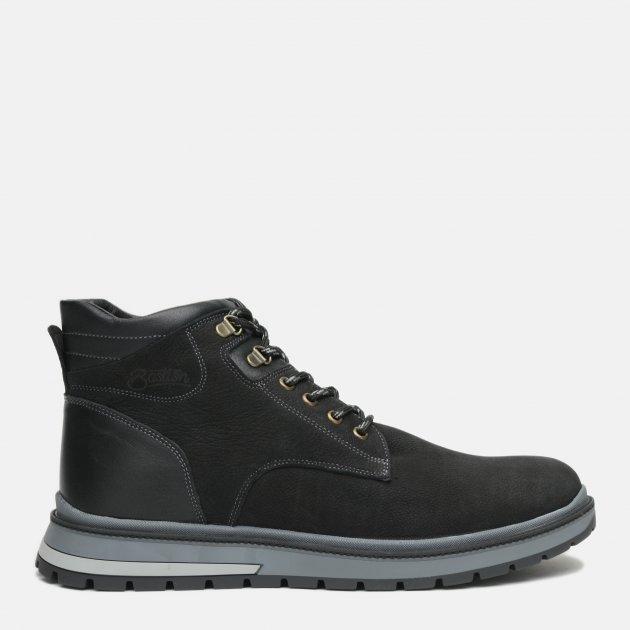 Ботинки Bastion 2046чн 40 26 см Черные (2220000041164) - изображение 1