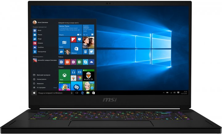Ноутбук MSI GS66 Stealth 10SE (GS6610SE-006NE) - зображення 1