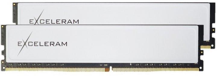 Оперативная память Exceleram DDR4-2666 16384MB PC4-21328 (Kit of 2x8192) Black&White (EBW4162619AD) - изображение 1