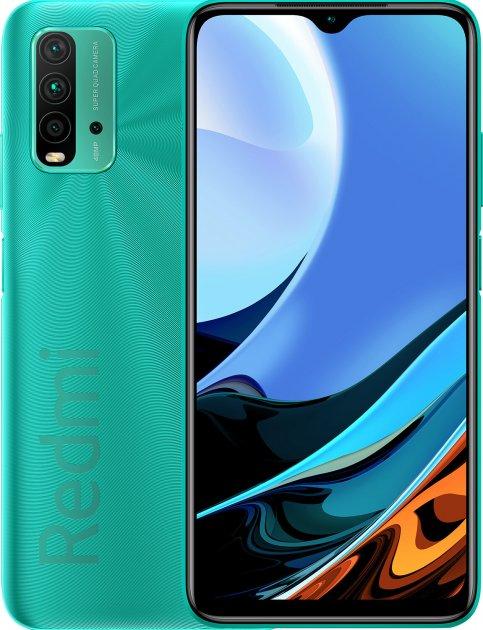 Мобильный телефон Xiaomi Redmi 9T 4/64 Ocean Green (749700) - изображение 1