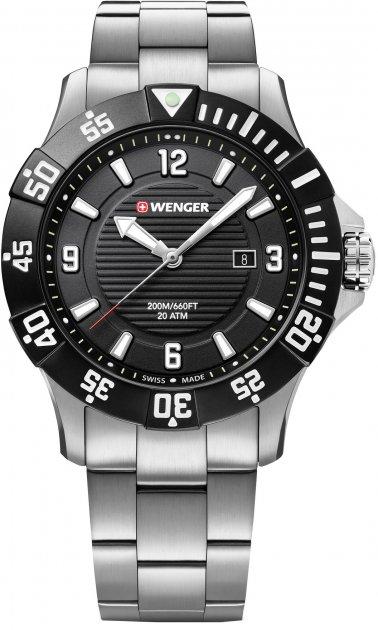 Чоловічий годинник Wenger W01.0641.131 - зображення 1