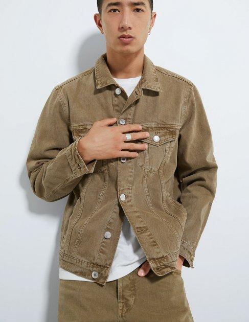 Куртка Zara М0104112 (0840/325/505) цвет коричневый S - изображение 1