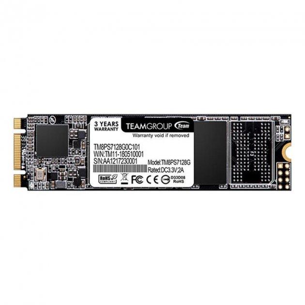 SSD 128GB Team MS30 M.2 2280 SATAIII TLC (TM8PS7128G0C101) - изображение 1