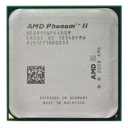 Процесор AMD Phenom II X4 955 3,2 GHz AM3 (95Вт) Б/У - зображення 1