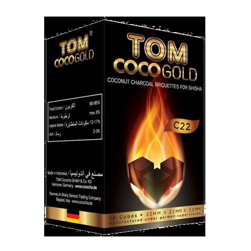 Кокосове вугілля Tom Coco Gold C22 1кг - зображення 1