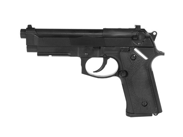 Пістолет STTI Beretta M92F/M9 Plastic Ris Green Gas (Страйкбол 6мм) - зображення 1
