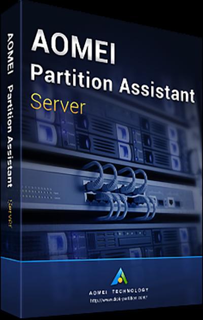 Системная утилита AOMEI Partition Assistant Server (1 сервер), без обновлений (PAS-00) - изображение 1
