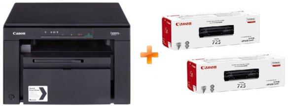 Canon i-SENSYS MF3010 (5252B034AA) + 2 картриджі в комплекті! - зображення 1