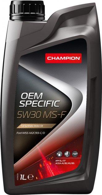 Моторна олива Champion OEM Specific 5W30 MS-F 1 л (8209314) - зображення 1