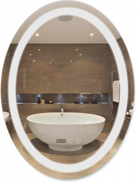 Зеркало QTAP Mideya с антизапотеванием (DC-F805-1) 600х800 QT2078F8051W - изображение 1