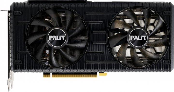 Palit PCI-Ex GeForce RTX 3060 Dual 12GB GDDR6 (192bit) (1777/15000) (3 x DisplayPort, HDMI) (NE63060019K9-190AD) - зображення 1