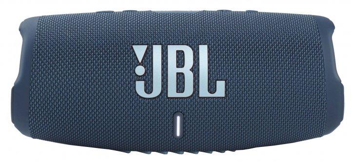 Акустична система JBL Charge 5 Blue (JBLCHARGE5BLU) - зображення 1