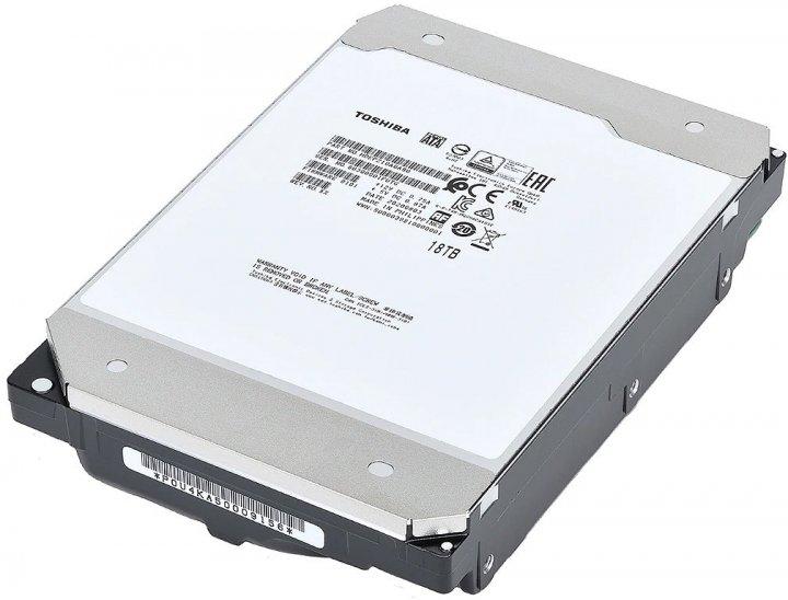 Жорсткий диск Toshiba Enterprise Performance 18TB 7200rpm 512MB MG09ACA18TE 3.5 SATA III - зображення 1