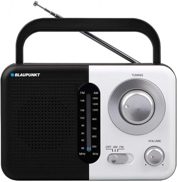 Портативний радіоприймач Blaupunkt PR7BK (5901750501067) - зображення 1