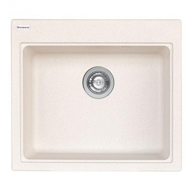 Мойка Кухонная Platinum Vesta 5852 Белый В Точку - изображение 1