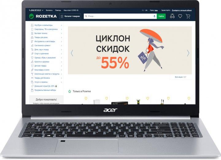 Ноутбук Acer Aspire 5 A515-44-R2WX (NX.HW4EU.00Y) Pure Silver - зображення 1