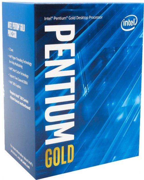Процесор Intel Pentium Gold G6405 4.1 GHz / 4 MB (BX80701G6405) s1200 BOX - зображення 1