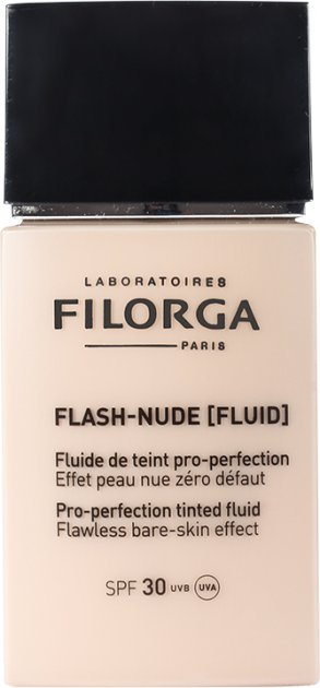 Тональный флюид Filorga Flash Nude SPF 30 30 мл 01 Бежевый (3540550008561) - изображение 1