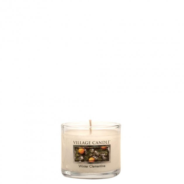 Свеча Village Candle Зимний Клементин Мини (время горения до 10ч) - изображение 1