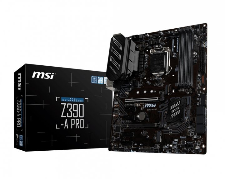 Материнская плата MSI Z390-A Pro Socket 1151 - изображение 1