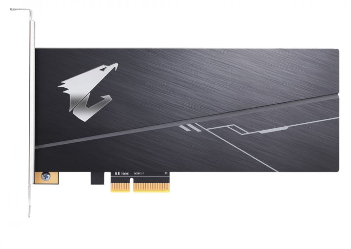 Gigabyte Aorus RGB AIC SSD NVMe 1TB PCIe 3.0 3D NAND TLC (GP-ASACNE2100TTTDR) - зображення 1