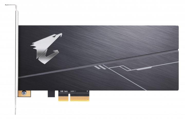 SSD Gigabyte Aorus RGB AIC NVMe 512GB PCIe 3.0 3D NAND TLC (GP-ASACNE2512GTTDR) - зображення 1