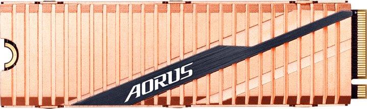Gigabyte Aorus NVMe Gen4 SSD 1TB M.2 2280 NVMe PCIe 4.0 x4 3D NAND TLC (GP-ASM2NE6100TTTD) - зображення 1