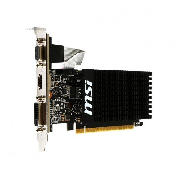 Відеокарта MSI GF GT 710 2GB (GT 710 2GD3H LP) - изображение 1
