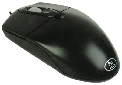 Миша A4Tech OP-720 USB чорна - зображення 1