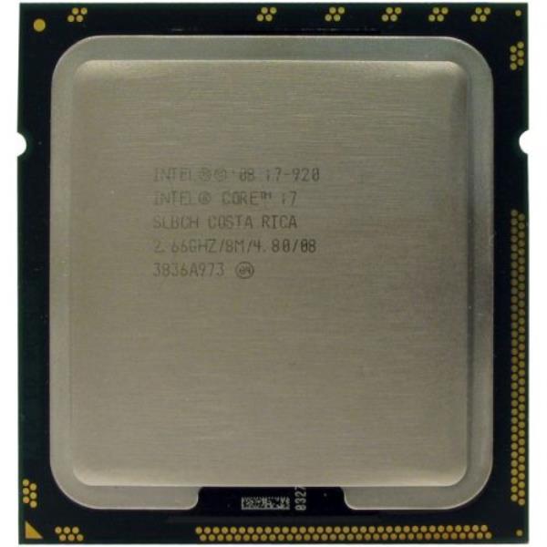 Процесор Intel Core i7-920 (S1366/4x2.66GHz/4.8 GT/s/8MB/130 Вт/BX80601920) Б/У - зображення 1