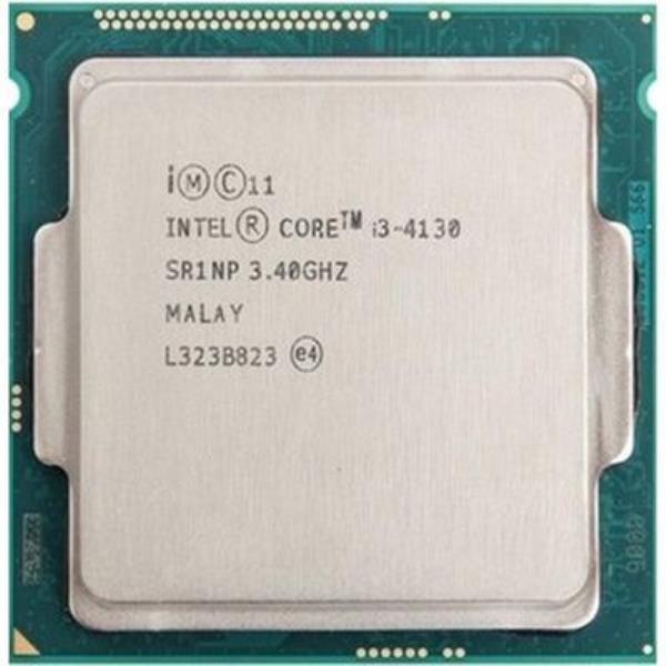 Процессор Intel Core i3-4130 (S1150/2x3.4GHz/5GT/s/3MB/54 Вт/BX80646I34130) Б/У - изображение 1