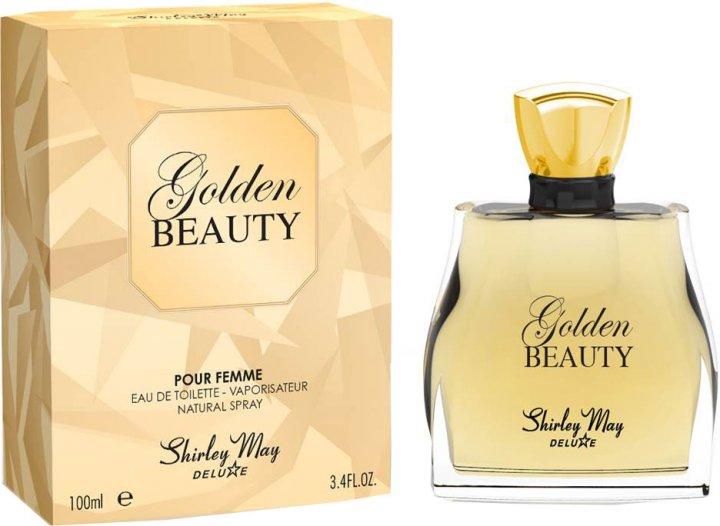 Туалетная вода для женщин Shirley May Deluxe Golden Beauty 100 мл (MM39114) (6295124023545) - изображение 1