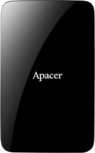 """Жесткий диск Apacer AC233 1TB 5400rpm 8MB AP1TBAC233B-S 2.5"""" USB 3.0 External Black - изображение 1"""