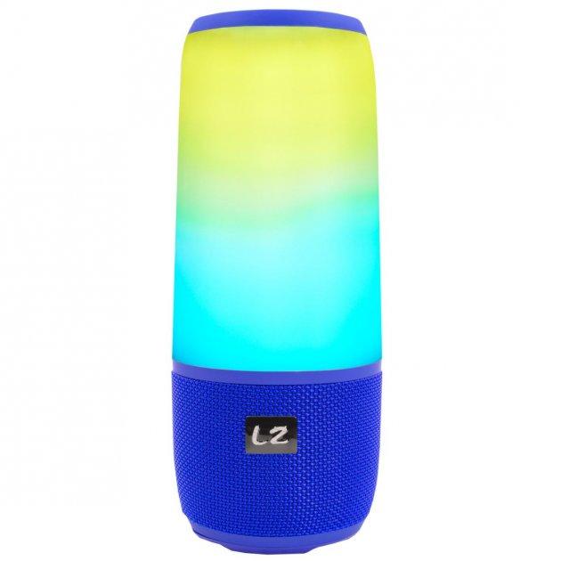 Беспроводная Bluetooth колонка LZ Pulse P3 Blue (2952-8360) - изображение 1