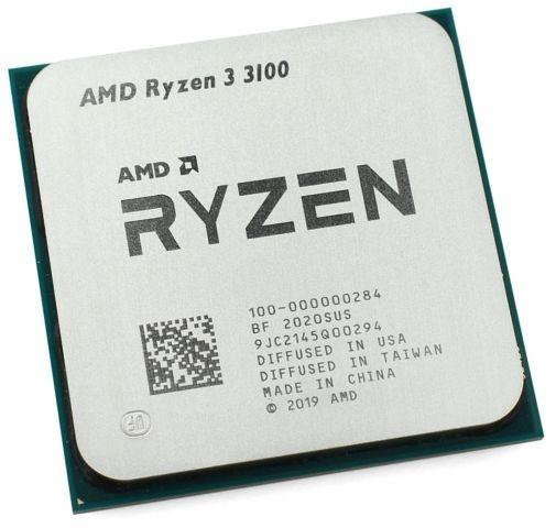 Процесор AMD Ryzen 3 3100 AM4 TRAY (100-000000284) - зображення 1