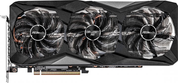 ASRock PCI-Ex Radeon RX 6700 XT Challenger Pro 12GB OC 12GB GDDR6 (192bit) (14000) (HDMI, 3 x DisplayPort) (RX6700XT CLP 12GO) - зображення 1