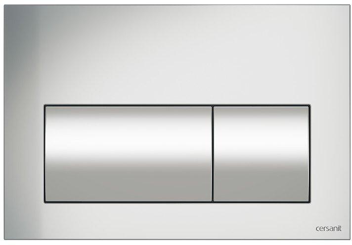 Панель смыва CERSANIT Presto K97-348 хром матовый - изображение 1