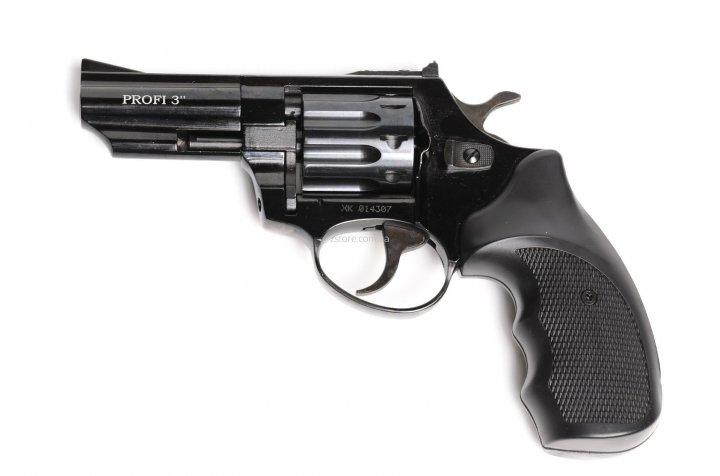 """Револьвер флобера ZBROIA PROFI-3"""" чорний / пластик (Z20.7.1.006) - зображення 1"""