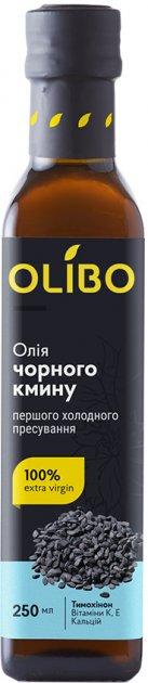 Масло из семян черного тмина Olibo 250 мл (4820184310070) - изображение 1