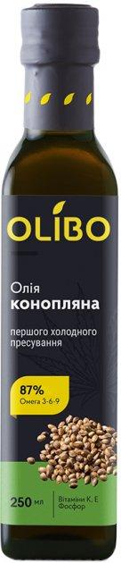 Масло из семян конопли Olibo 250 мл (4820184310056) - изображение 1