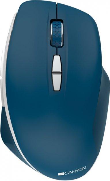 Мышь Canyon MW-21 Wireless Blue (CNS-CMSW21BL) - изображение 1