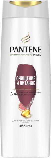 Шампунь Pantene Pro-V Слияние с природой Очищение и Питание 400 мл (4084500673748) - изображение 1