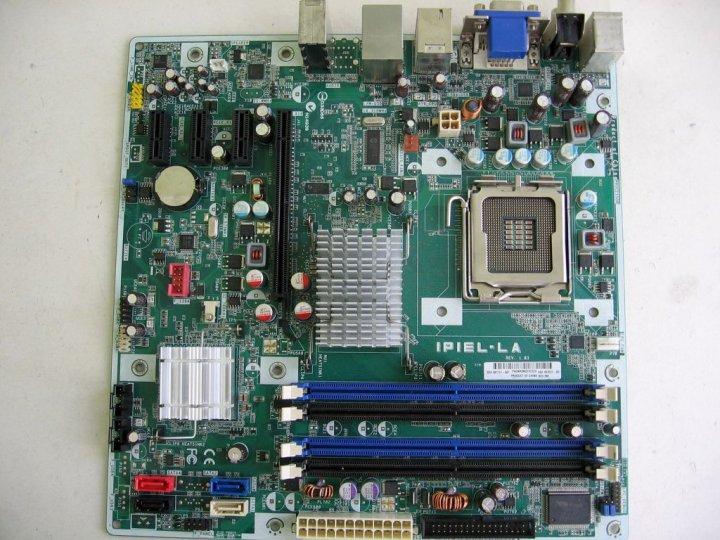 Материнська плата HP IPIEL-LA (s775, Intel G45, 4xDDR2, 4xSATA, 1xPCI-Ex16, microATX) Б/У - зображення 1