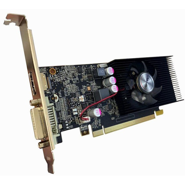 AFOX GeForce GT1030 Low Profile (AF1030-2048D5L5) - зображення 1