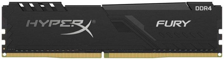 Оперативная память HyperX DDR4-2400 8192MB PC4-19200 Fury Black (HX424C15FB3/8) - изображение 1