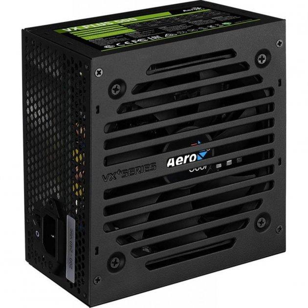 Блок питания AeroCool 500W VX PLUS 500 (4713105962758) - изображение 1