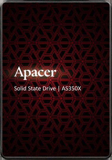 "Apacer AS350X 512GB 2.5"" SATAIII 3D NAND (AP512GAS350XR-1) - изображение 1"