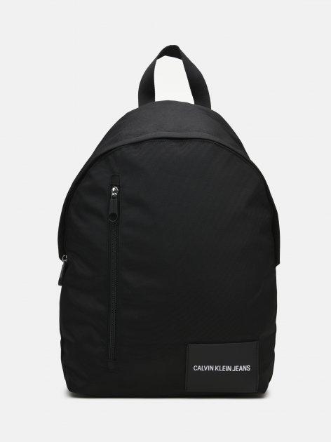 Чоловічий рюкзак Calvin Klein Jeans Round Bp 43W/Front Zip K50K506355-BDS Black (8719853625682) - зображення 1