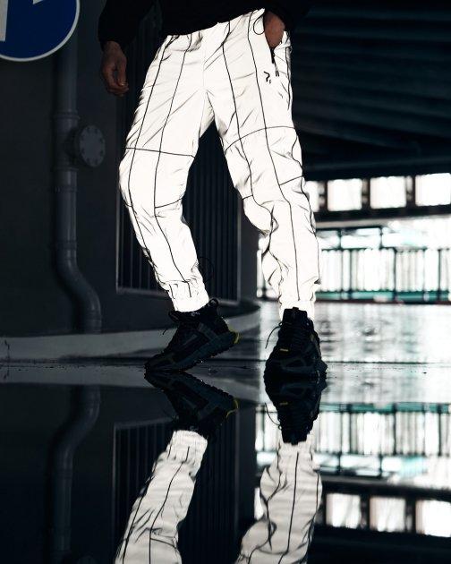 Спортивные штаны Пушка Огонь Bard рефлективные с кантом L - изображение 1